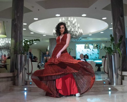 fashion was the talk of town at Talk of Town Cafe in Sliema