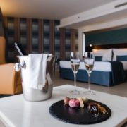 In-Room Dining Experience