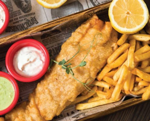 Fish and Chips in Sliema